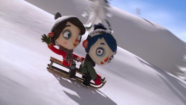Baden im Zentrum des Animationsfilms