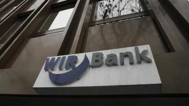 Logo der Wir-Bank.