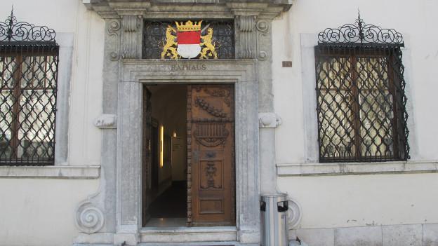 Rathaus Solothurn, Eingang