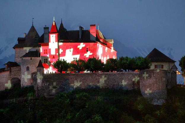 Partnerschlösser entdecken: Auf Schloss Habsburg wurde auch Schloss Gruyères bekannt gemacht.