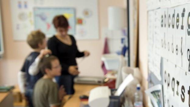 Die Primarschule im Aargau ist weiblich.