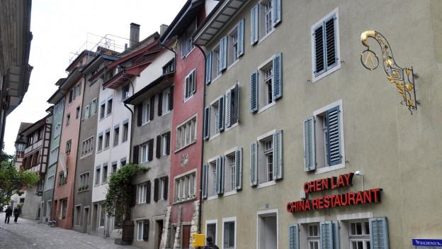 Altstadt Baden, das Stadtzentrum und die Umgebung seien grundsätzlich sicher, sagten befragte Einwohner von Baden.
