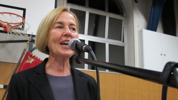 Sie soll für die SP den einzigen Sitz in der Regierung verteidigen; die 53-jährige Susanne Schaffner aus Olten.