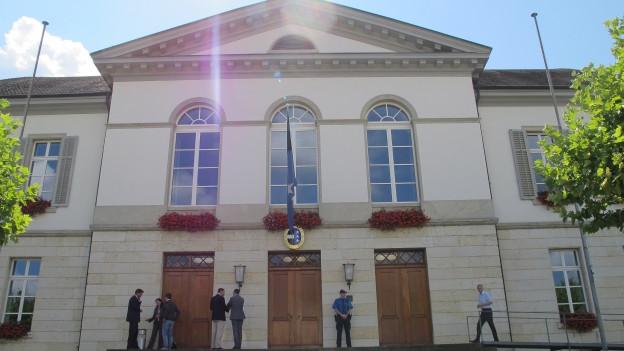 Grossratsgebäude in Aarau.