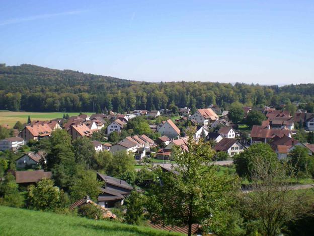 Das Dorf Riniken am Bözberg.