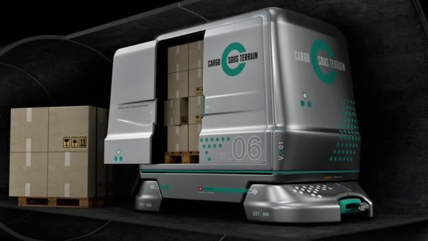 Simulation Cargo sous terrain.