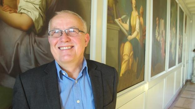 Jetzt darf er sich auf die Pension freuen: Cäsar Eberlin zieht sich nach 43 Jahren Arbeit beim Kanton Solothurn zurück.