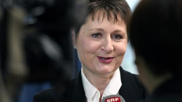 Franziska Roht muss als Neue und Quersteinsteigerin vielen Erwartungen gerecht werden.