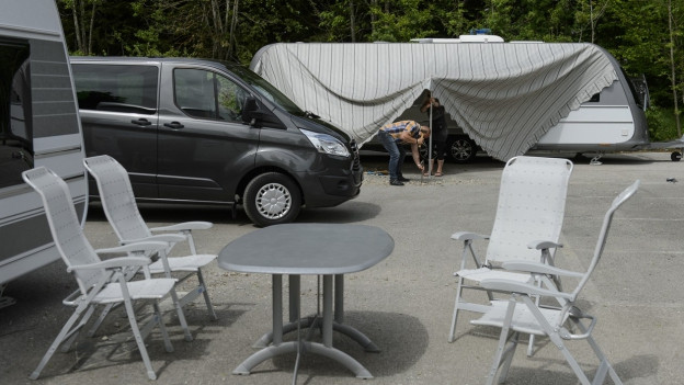 Gibt es im Kanton Solothurn eine neues Lösung für die Schweizer Fahrenden?