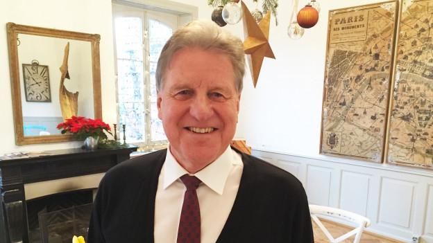 Markus Graf im neuen Büro in Solothurn