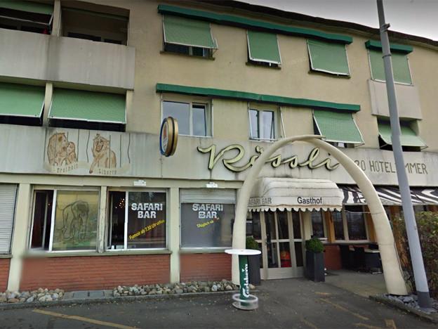 Die Fassade des Gasthofs Rössli in Unterentfelden
