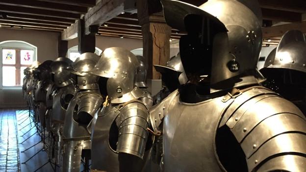 Ritterrüstungen im Museum Altes Zeughaus Solothurn