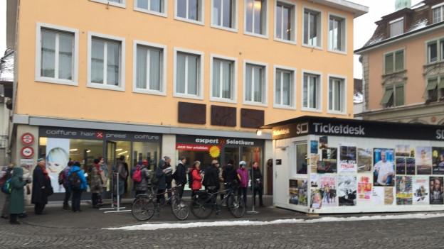 An den Solothurner Filmtagen gibt es erstmals für alle Vorstellungen Eintrittskarten im Vorverkauf.