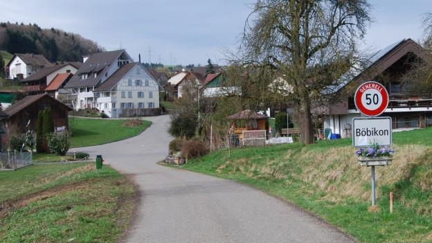 170 Einwohner, viel Wald und Wiesen und vielleicht bald einen viel höheren Steuerfuss: Böbikon im Zurzibiet.