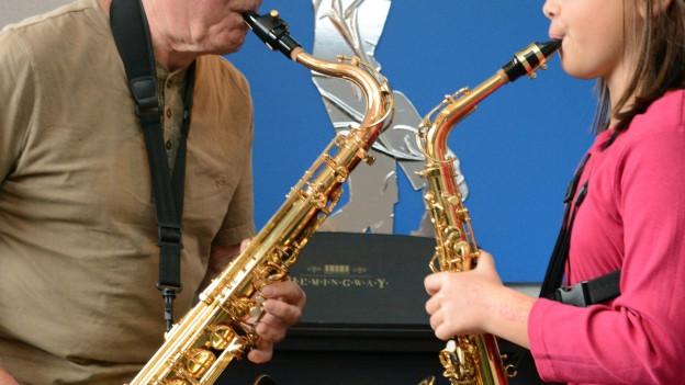 Die Jungen lernen von den Profis: Das ist das Konzept des Jazzaar Festivals.