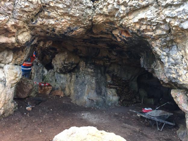 Die Bruderhöhle in Effingen.