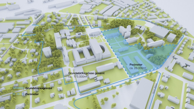 Das Kantonsspital prüft einen grossen Neubau.