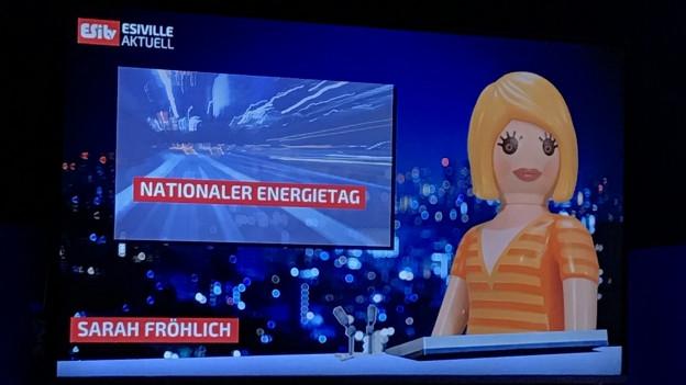 Das Paul Scherrer Institut PSI hat in Villigen eine neue Besucherstation in Betrieb genommen. In der Energy-System-Integration-Plattform (ESI) wird normalerweise an erneuerbaren Energien geforscht. Ab März ist die Plattform auch für Besucher zugänglich.