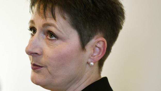 Franziska Roth will die Kommunikation in ihrem Departement umkrempeln.