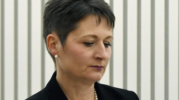 Hat Regierungsrätin Franziska Roth ihre Departementssprecherin entlassen oder ist diese selber gegangen?