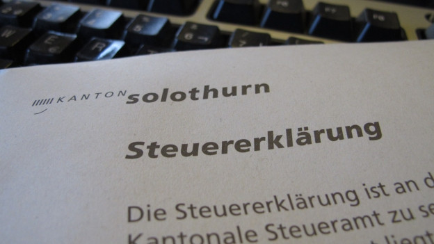 Solothurner Streuererklärung.