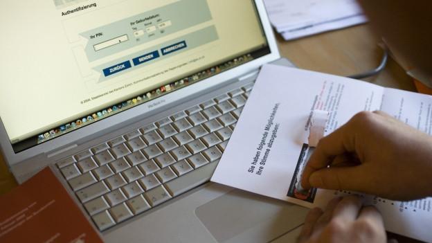 E-Voting für den ganzen Kanton? Das zeigt sich nach dem Pilotversuch, der nun bewilligt ist.