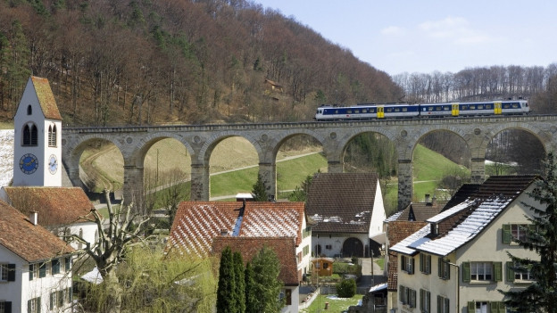 Das Läufelfingerli am Ende. Wohl bald gibt es keine Regionalzüge mehr auf der Strecke zwischen Sissach und Olten.