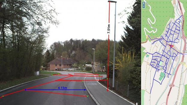 «Google Street View für Profis»: Immer mehr Bauverwaltungen können Messungen gleich am Bildschirm durchführen.