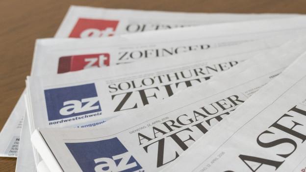 Die AZ Medien produzieren Zeitungen, betreiben Radio- und Fernsehstationen und drucken Bücher im AT Verlag.