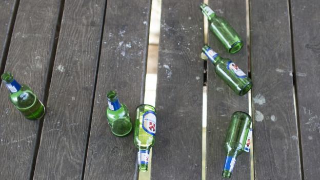 Die Party auf dem Heiteren hinterliess viele Spuren.