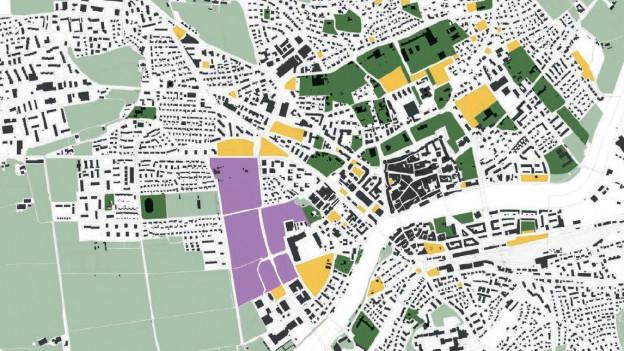 erdichten oder erweitern? Verdichten, fordert der Verein Solothurn Masterplan.