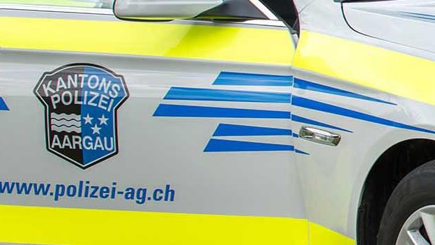 Ein Streifenwagen der Kantonspolizei Aargau.
