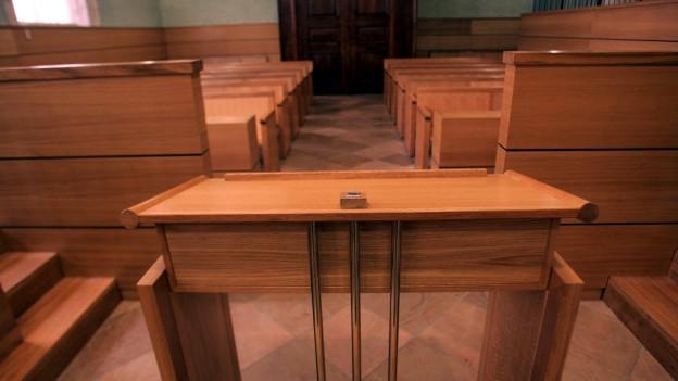 Bei Amtsgerichtspräsidentenwahlen wird im 1. Wahlgang keine Konkurrenz gedultet.