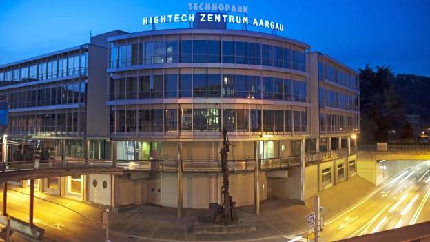 Der Technopark in Brugg ist das Herzstück des Hightech Zentrums Aargau.