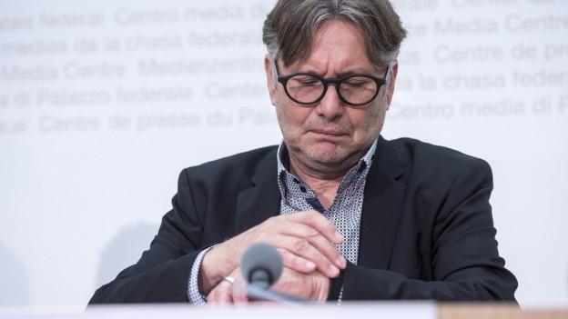Zeit für ein Comeback: Der ehemalige Datenschützer Thür will seine Pension als Vize-Stadtpräsident verbringen.