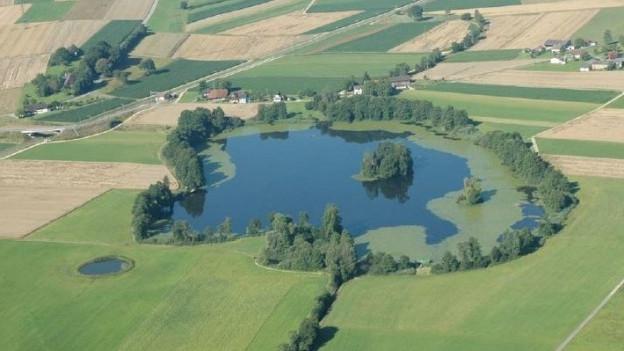Wird nichts unternommen, könnte der Inkwilersee in 150 bis 200 Jahren verschwunden, bzw. ein Flachmoor sein.