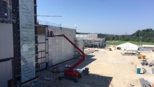Biogen-Neubau in Luterbach aussen fertig gebaut