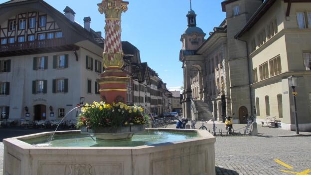 In Zofingen (Bild) ist die Stadtregierung im 2. Wahlgang komplett. In Rheinfelden schon im ersten.