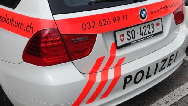 Die Stadt Solothurn leistet sich auch künftig ein eigenes Polizeikorps mit eigenen Streifenwagen.