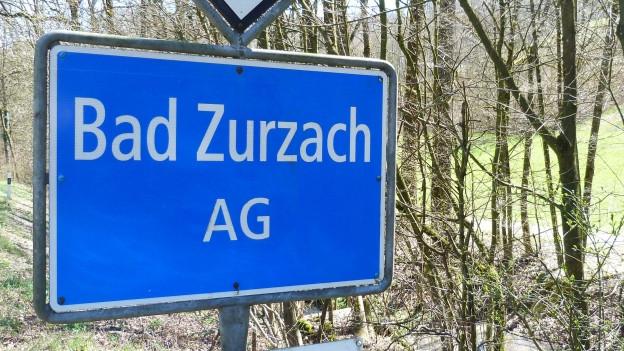 Ortstafel Bad Zurzach