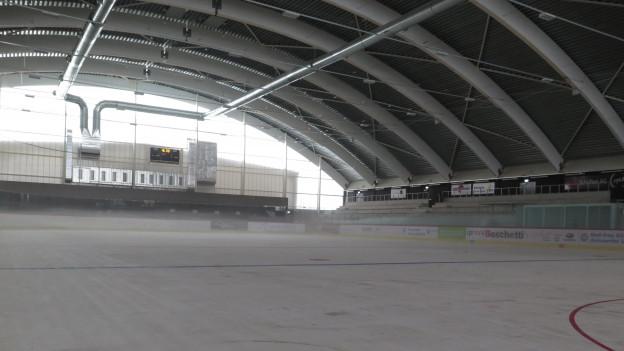 Die Aargauer Eissport-Clubs dürfen bereits vor der Hauptsaison in der Kunsteisbahn Aarau trainieren.