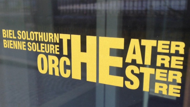 Logo des Theaters Orchesters Biel Solothurn am Stadttheater Solothurn
