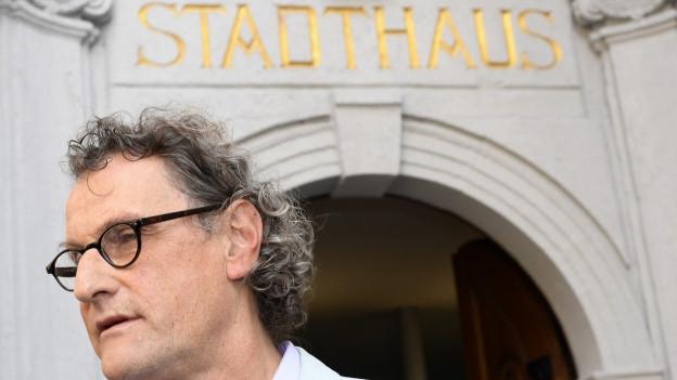 Geri Müller muss das Badener Stadthaus verlassen, die Stimmbevölkerung hat ihn aus der Regierung abgewählt.