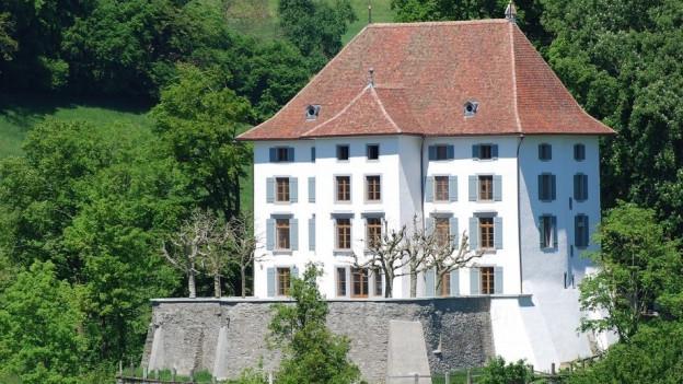Das Schloss wird saniert. Nun sollen in Nebengebäuden (nicht im Bild) Hotelzimmer folgen.