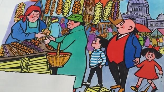 Papa Moll ist im Zurzibiet omnipräsent. Aber ist die Idee der Schnitzeljagd mit Papa Moll gestohlen?