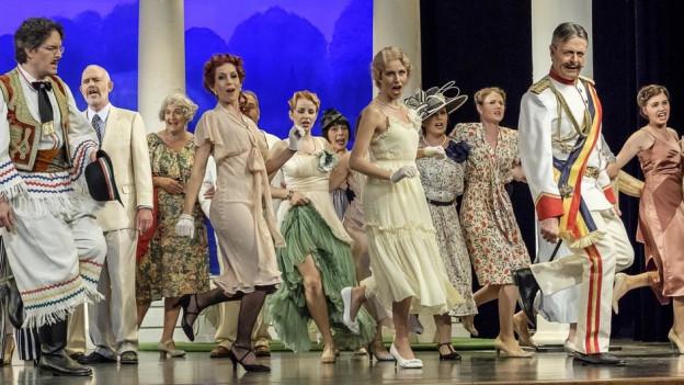 Die Operette Möriken-Wildegg zeigt Gräfin Mariza