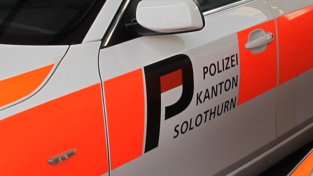 Fahrzeug der Kapo Solothurn