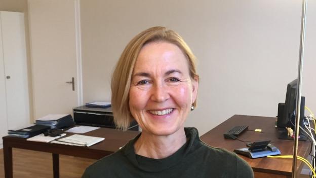 Susanne Schaffner in ihrem Büro. Sie habe die Arbeit als Anwältin schon fast vergessen, sagt sie.