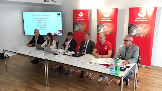 Eine Gruppe aus dem Umfeld des FC Aarau will das Stadionprojekt noch retten.