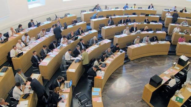 Kein Zugang: Im Aargauer Grossen Rat sollen keine Kantonsangestellten sitzen dürfen, findet die Regierung.